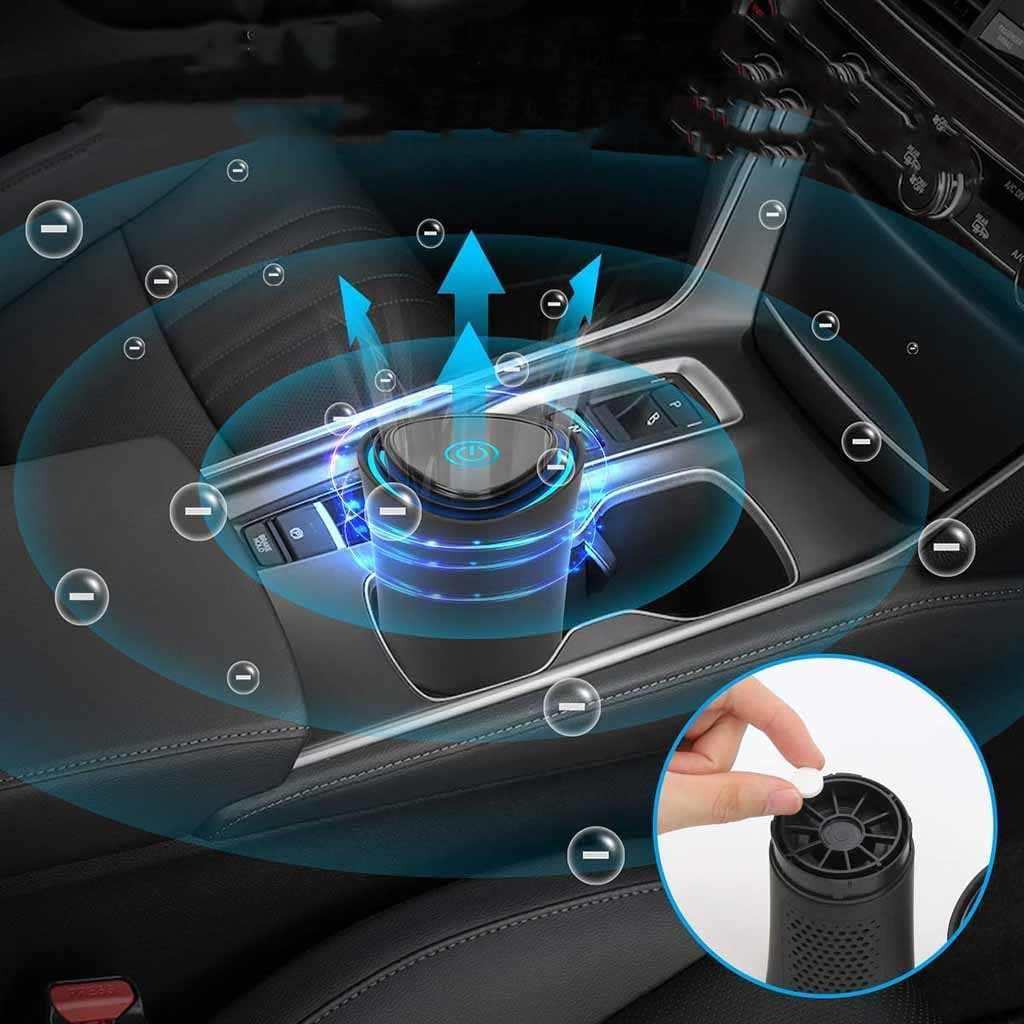 Nouveau 360 degrés purificateur d'air voiture purificateur d'air Plasma Cluster Ion générateur désodorisant nettoyant meilleur pour voiture maison bureau