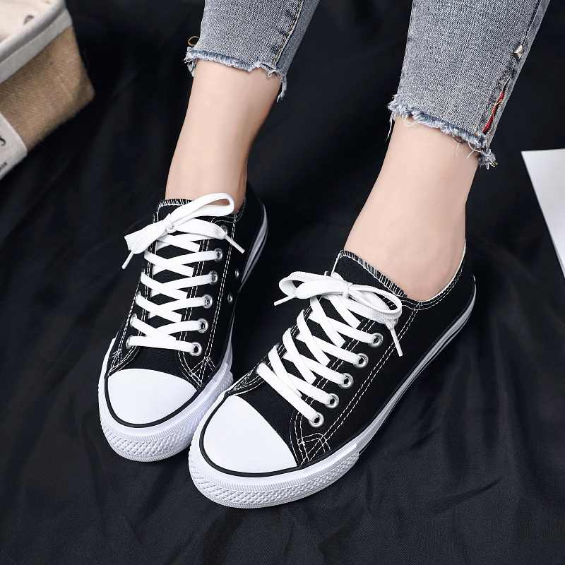 Womens Dames Allstars Klassieke Authentieke ChuckTaylor Ox Lage Top Casual Canvas Mode Sneakers Sportschoenen ST22