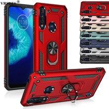Ring Armor Case For Motorola Moto G8 Power Lite G7 G6 G Fast Power Stylus E E5 E6 Plus Play E6S One Pro Zoom Macro Hyper Action
