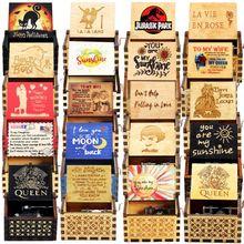 Music-Box Hand-Crank Jurassic Park Wooden Birthday-Gift Sunshine New-Year's-Gift My You