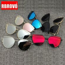 RBROVO 2018 Brand Designer Cat eye Sunglasses