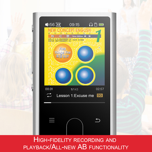 Image 3 - FiiO M3K Metal case Sport Audio Mini Lcd screen HiFi Mp3 Player Music Audio Mp 3 With Voice Recoder for Student,Kids
