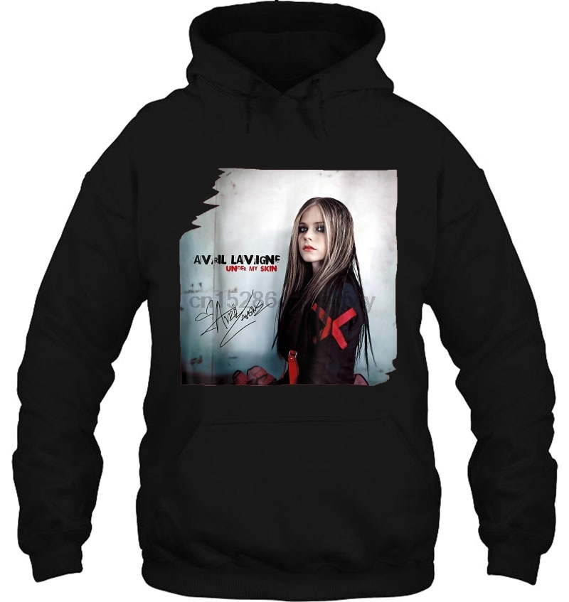 Avril Lavigne Under My Skin Women Streetwear Men Women Hoodies Sweatshirts