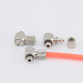 Mini Pneumatic fitting Male Thread M5 M6 To Air Tube 4mm 6mm Straight Pneumatic Pipe Air Quick Joint Coupler Connector image