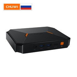 CHUWI Herobox Mini PC Windows 10 sistema Intel Gemini-Lago N4100 Quad Core LPDDR4 8GB RAM 180G SSD