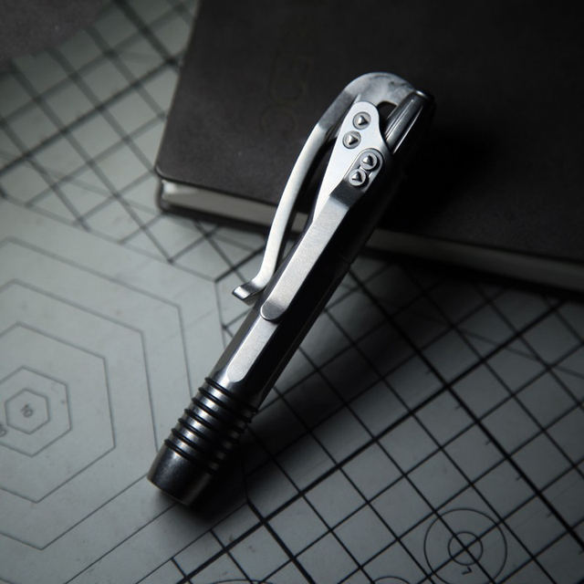 EDC Titanium Alloy Self Defense Survival Safety Tactical Pen With Writing Multi-functional EDC Tools