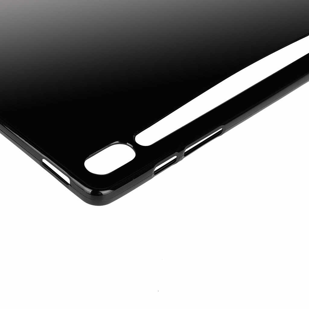 """Suitable For Samsung Galaxy Tab S6 10.5"""" T860 T865 Soft Clear Tpu Shockproof Case Cover Matte Drop Protection Case #10"""