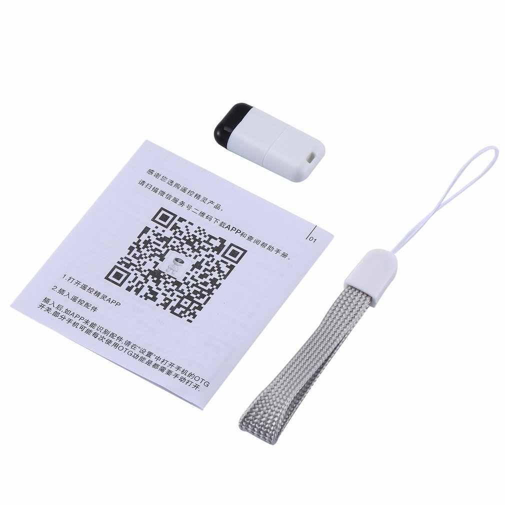 Micro USB typu C inteligentna kontrola aplikacji telefon komórkowy pilot zdalnego sterowania bezprzewodowego urządzenia na podczerwień adapter do TV TV BOX