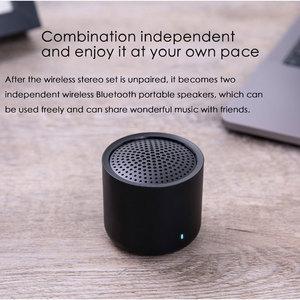 Image 4 - Original Xiaomi Drahtlose Tragbare Bluetooth Lautsprecher 5,0 Musik Audio 2,0 TWS Stereo Sound Lautsprecher mit Mic Für iPhone ipad Tablet