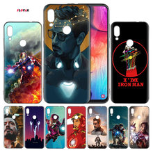 Avengers Endgame Tony Stark Iron Man Coque Cover Phone Case For Samsung Galaxy A30 A50 A70 J4 J6 J8 A6 A8 A7 A9 Plus 2018 M10 M2(China)