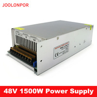 Switching power supply 110V / 220V to 48V 31.25A 1500W led power supply CCTV / LED Strip AC to DC source power Adapter