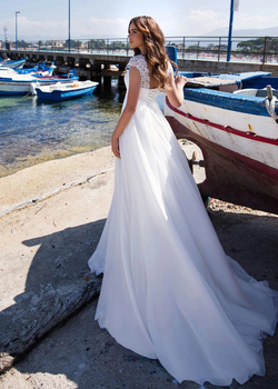 Robe de Mariage Bohème Vintage Diana