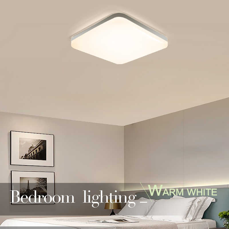 Vierkante Led Panel Licht 18W 24W 36W 48W Ronde Downlight AC85-265V Led Oppervlak Plafond Lamp Voor keuken Verlichting