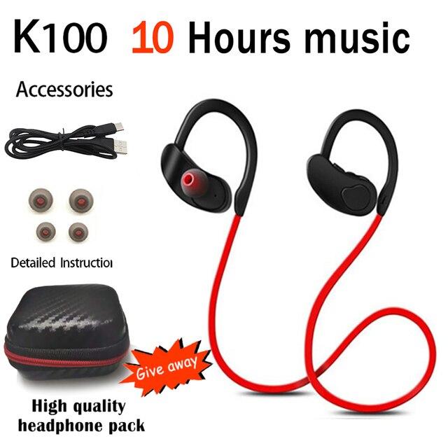 XEDAIN Bluetooth Earphone Waterproof Wireless Bluetooth Headphone Sports Bass Headset with Mic for phone iPhone xiaomi Earphone