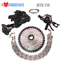 DIY sensah Transmission Kit 11 Speed slx Mountain Bike M7000 Accessories Rear Dia Tooth Plate bicycle derailleur free delivery