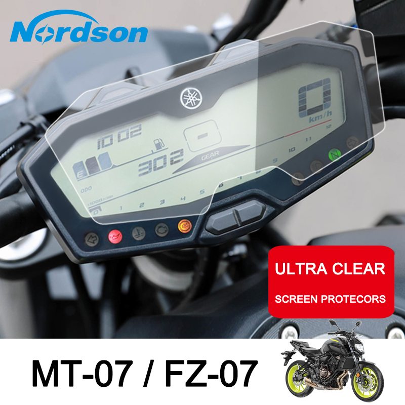 2 Set Smotorcyle Cluster Screen Protection Speedometer Film Screen Protection For Yamaha Mt07 Fz07 Motorcycle Accessories