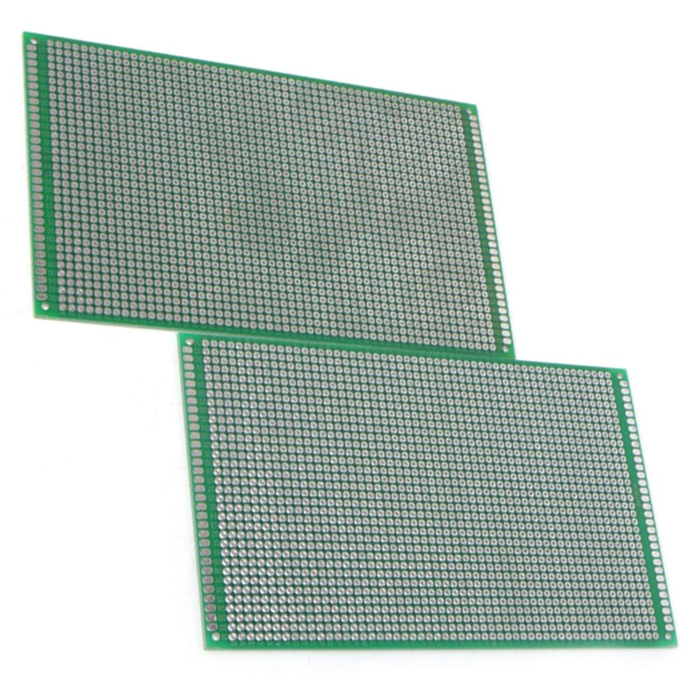 2PCS 9x15cm Double Side Board DIY Prototype Paper PCB 1.6mm Cheaper New