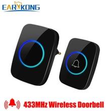 Wireless Doorbell Intelligent Home Welcome Doorbell Waterpro