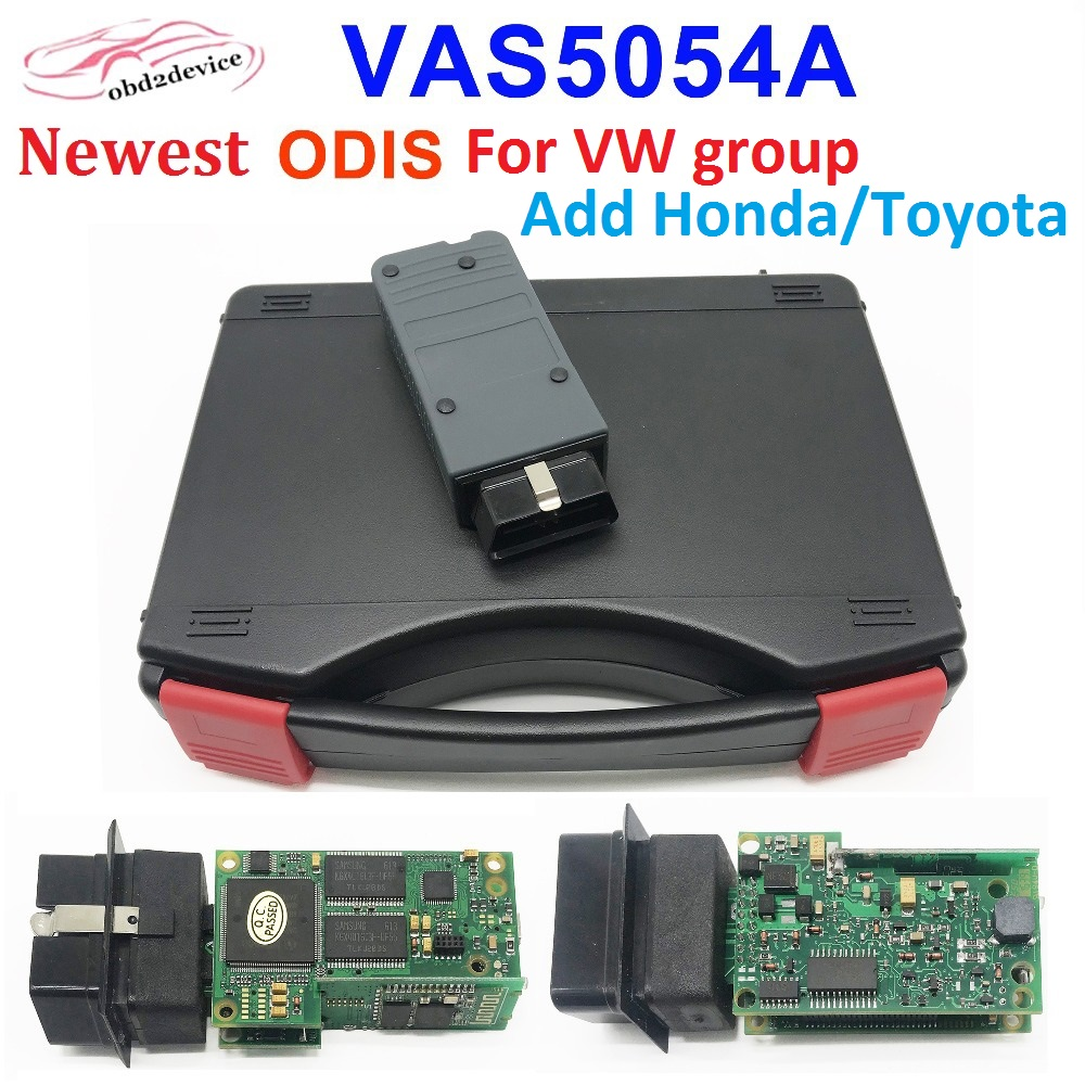 VAS 5054a ODIS V5 26 OKI M6636B Full Chip for v w Car Diagnostic VAS5054A dois Auto Scanner for Ho-da Toyta Bluetooth connect