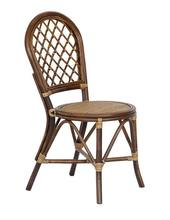 Special offer Indonesia rattan dining chair rattan chair home rattan leisure chair simple hotel furniture fashion computer chair(China)
