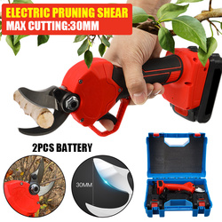 Pruning Cutting Shears Grafting Shears Garden Cutter Electric Wireless Rechargeable Lithium Tree Pruning Shears Garden Tools