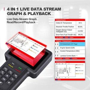 Image 4 - Thinkcar Thinkscan S99 DIY araba algılama OBD2 tam sistem kod okuyucu tarayıcı yağ/fren/SAS/ETS/DPF sıfırlama teşhis araçları