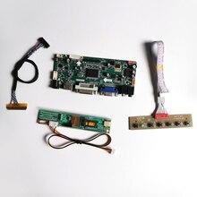 "For B154PW02 V2 V3 CCFL LVDS 30Pin 15.4"" 1440*900 M.NT68676 screen controller drive board LCD monitor panel HDMI+VGA+DVI DIY kit"