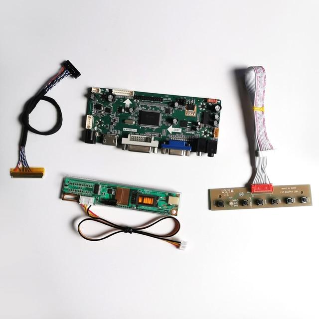 """Per B154PW02 V2 V3 CCFL LVDS 30Pin 15.4 """"1440*900 M.NT68676 del controller dello schermo bordo di auto pannello del monitor LCD HDMI + VGA + DVI kit FAI DA TE"""