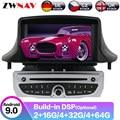 Android 10 DSP GPS Navigation Auto-Radio-Player Für Renault Megane 3 Renault Fluence 2009 + Auto Radio Kopf Einheit multimedia-Player