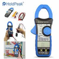 HoldPeak HP-870N Auto Gamma DC AC Digital Clamp Meter Multimetro Pinza Amperimetrica Amperimetro A Vero RMS Frequenza Retroilluminazione