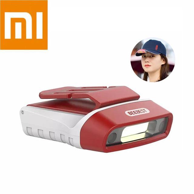 Xiaomi Mijia Beebest Gebaar Sensor Draagbare Licht Koplamp Cap Clip Licht Multifunctionele Inductie Zaklamp Usb Oplaadbare