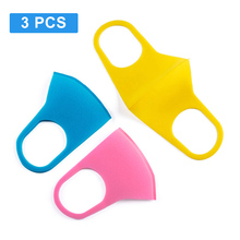 3PCS PM2.5 Kids Outdoor Cycling Anti Dust Haze Sponge Mouth Face Mask Respirator