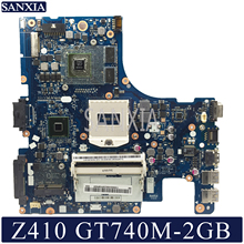 Купить с кэшбэком KEFU NM-A181 Laptop motherboard for Lenovo Z410 original mainboard GT740M-2GB