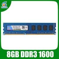 VEINEDA Dimm ram ddr3 8gb 1600MHz 1.5V memoria ram For all Intel AMD Desktop PC3 12800 8gb ddr 3 non ECC memory