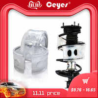 Ceyes 2Pcs Car Styling Avtobafery Suspension Shock Absorber Spring Bumper Power Auto-Buffers Accessories AutoBuffer Cushion Car
