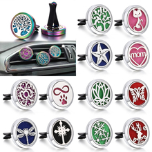 173 Styles New Car Perfume Diffuser 316L Stainless Steel Vent Freshener Essential Oil Clip Aromatherapy Jewelry