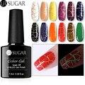 УФ-Гель-лак UR SUGAR 7,5 мл, светящийся растрескивающийся Гель-лак для дизайна ногтей, светодиодный Полупостоянный Цветной Гель-лак для ногтей