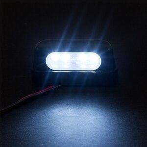 Image 5 - 12V Universal Black LED Motorcycle Tail Brake Rear License Plate Light For Honda/Kawasaki/Yamaha/Suzuki