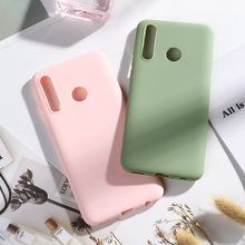Candy Color Silicone Case For Huawei P Smart Plus 2019 Couqe Huawei P Smart Plus PSmart+ Nova 4 Lite Case Soft TPU Phone Cover цена и фото