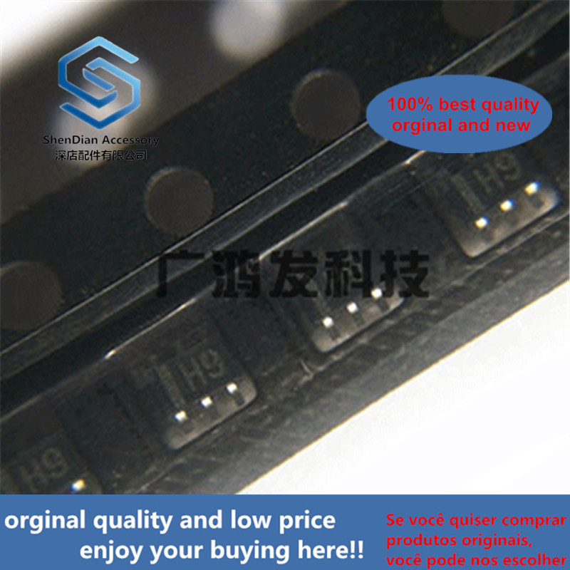 10pcss 100% New And Orginal UMH9NTN Double NPN Composite Band Stop Transistor SOT-363