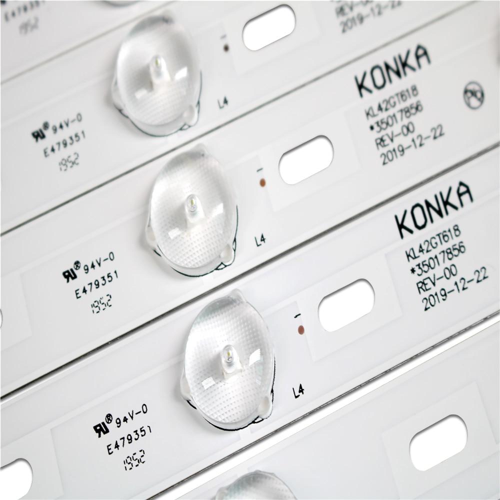 3-Новый 8 шт. 431 мм/435 мм оригинальный светильник Kon ka kl42gt618 35017856 35017847rev-00 смотреть на Алиэкспресс Иркутск в рублях