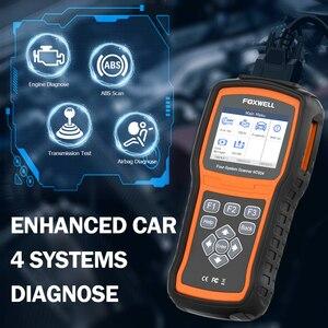 Image 3 - FOXWELL NT604 OBD Scanner Code Reader Motor Überprüfen Scan Tool ABS SRS Übertragung Werkzeuge Für Auto 4 System Diagnose Freies update