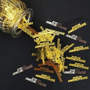 Image 3 - Confeti de 15g para cumpleaños, confeti de Cumpleaños feliz, aniversario, decoración de fiesta de cumpleaños, confeti, suministros de lentejuelas