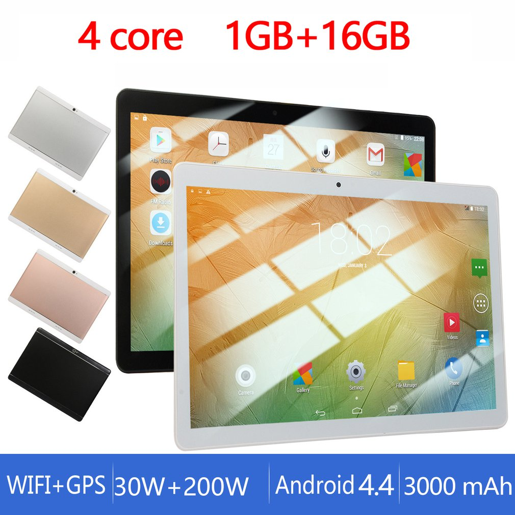 S3 10 Inch Smart Tablet Quad Core 3G Call Wifi Custom Android 1.6Ghz Processor Frequency Intelligent Gravity Sensor