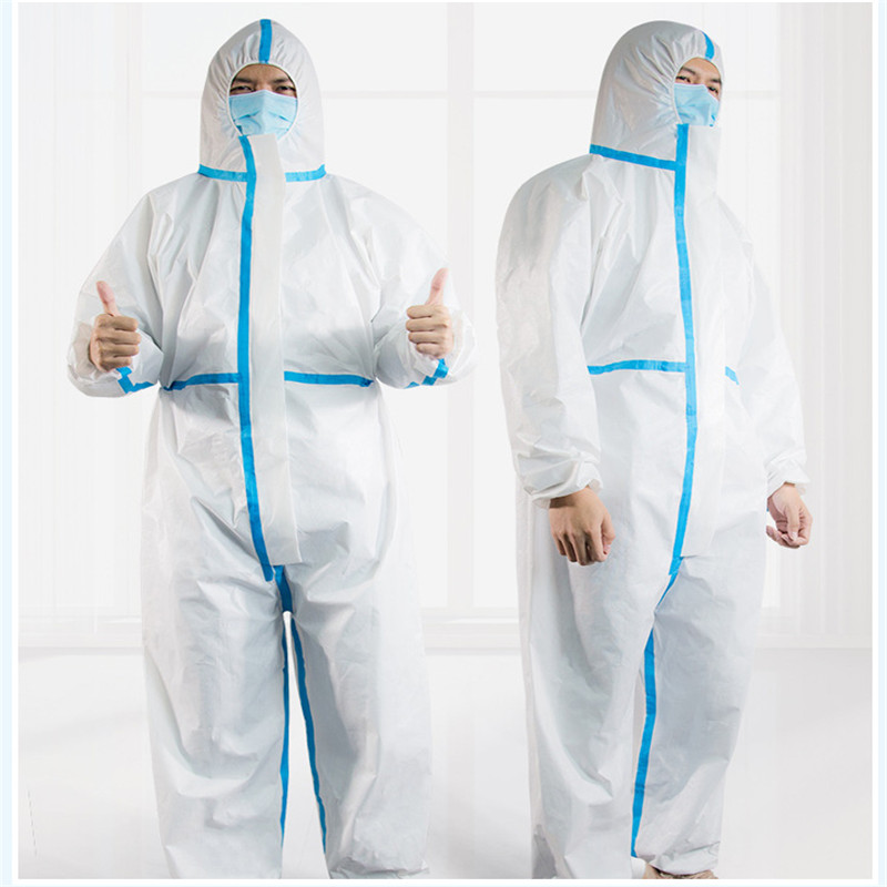 Disposable and Coverall Medical Protective Clothing Used as Isolation Suit for Patients and Hospital Staff 5