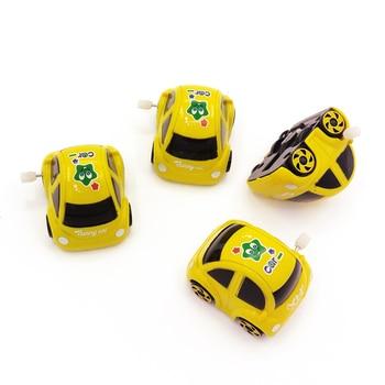 1Pcs Kids Cute Clockwork Car toys Set Plastic Boy Cartoon Model Educational For Children Toy a year Funny Baby Gift Random Color недорого