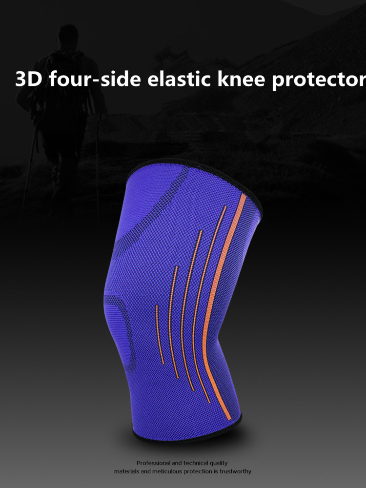 TJ-TingJun Hot Knee Protector Sports Breathable And Pressurized 3D Three-dimensional Four-side Elastic Knee Protector K1836