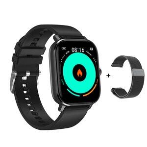 Умные часы DT35 ECG PPG Full Touch Bluetooth Смарт-часы MTK2502 кровяное давление кислород Whatsapp напоминание может отвечать на звонки