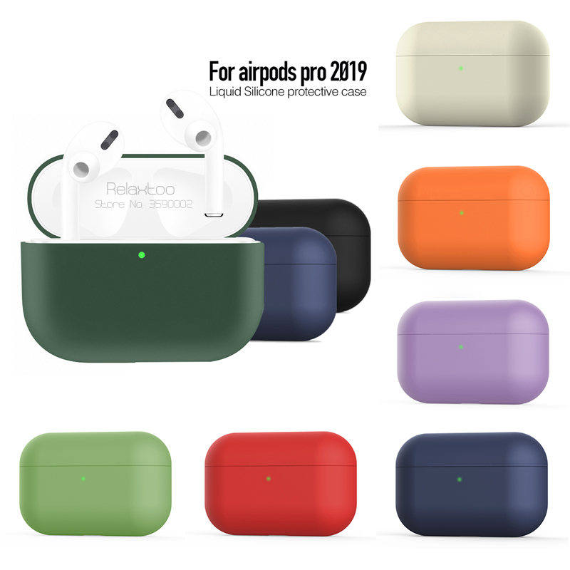 High Quality Silicone Case For Airpods Pro Cover For Airpods 3 Case Shockproof Coque For Apple Air Pods Pro Earphone Accessories