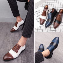 Brand Pointed Toe Men Shoes Business Men Office Formal Leather